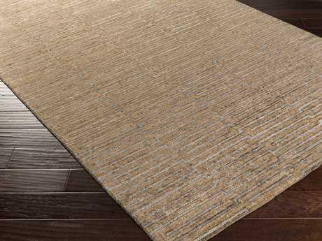 Surya Platinum Rectangular Tan Area Rug