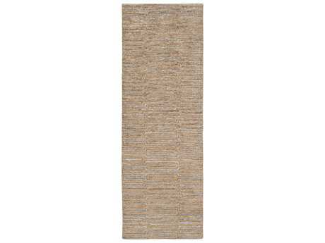 Surya Platinum 2'6'' x 8' Rectangular Tan Runner Rug
