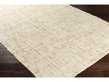 Surya Plymouth Rectangular Cream & Taupe Area Rug