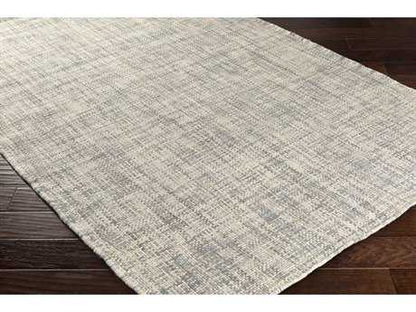 Surya Plymouth Rectangular Cream & Light Gray Area Rug