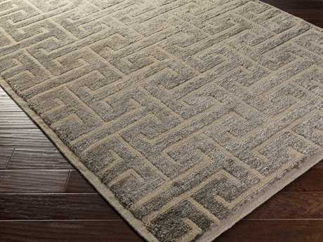 Surya Papyrus Rectangular Light Gray Area Rug