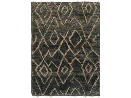 Surya Papyrus Rectangular Olive Area Rug
