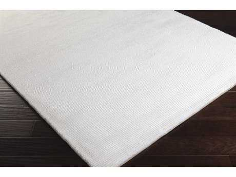 Surya Perla Rectangular White Area Rug