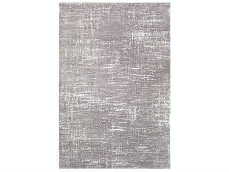 Surya Perla Rectangular Charcoal & White Area Rug