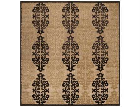 Surya Portera 7'6'' Square Brown Area Rug