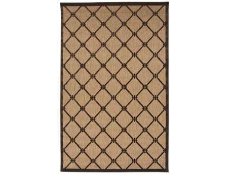 Surya Portera Rectangular Brown Area Rug