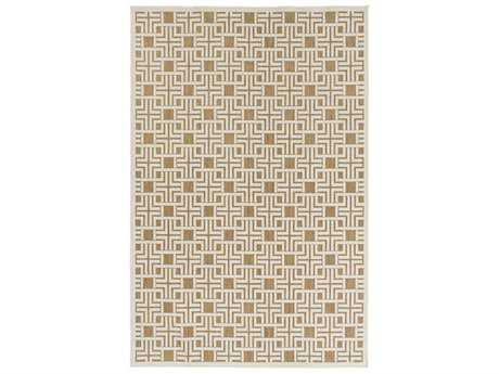 Surya Portera Rectangular Light Gray & Tan Area Rug