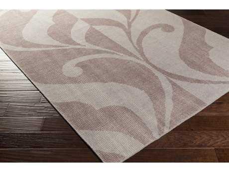 Surya Paradox Rectangular Mauve & Lilac Area Rug