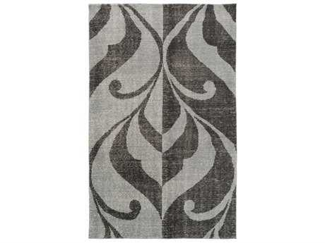 Surya Paradox Rectangular Black & Medium Gray Area Rug