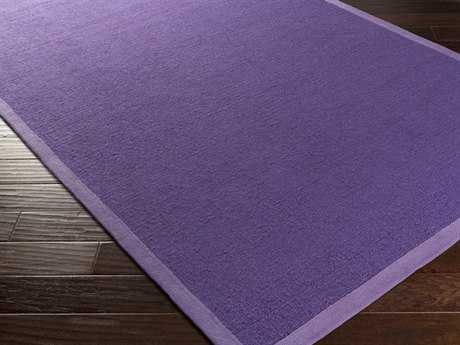 Surya Perry Rectangular Violet Area Rug