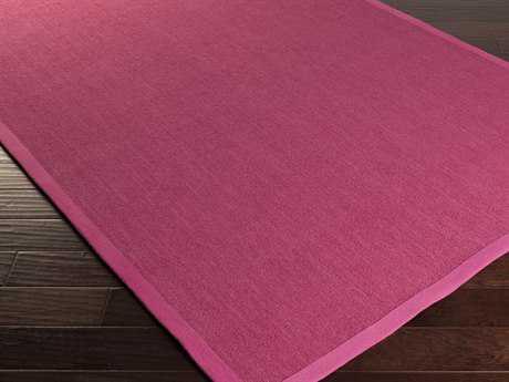 Surya Perry Rectangular Hot Pink Area Rug