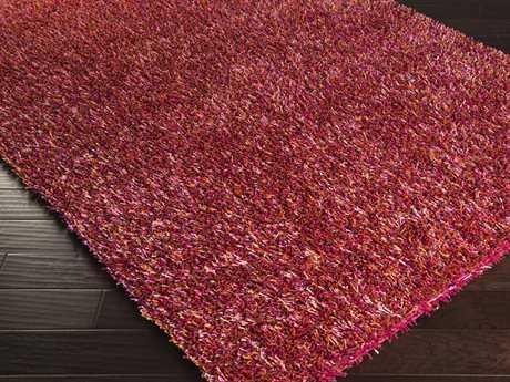 Surya Prism Rectangular Pink Area Rug