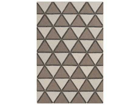 Surya Patch Rectangular Taupe Area Rug