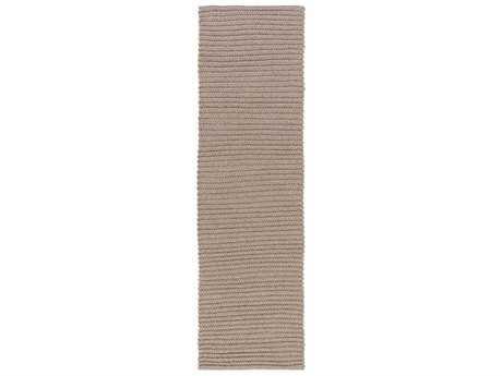 Surya Pura 2'6'' x 8' Rectangular Taupe Runner Rug
