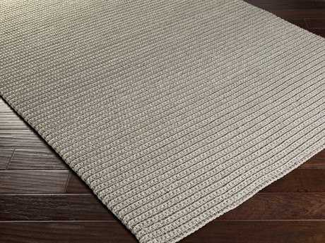 Surya Pura Rectangular Light Gray Area Rug