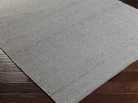 Surya Pulau Rectangular Light Gray Area Rug