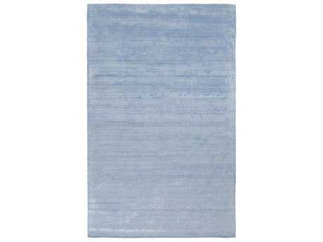 Surya Pure Rectangular Sky Blue Area Rug