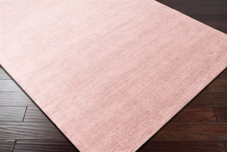 Surya Pure Rectangular Blush & Butter Area Rug