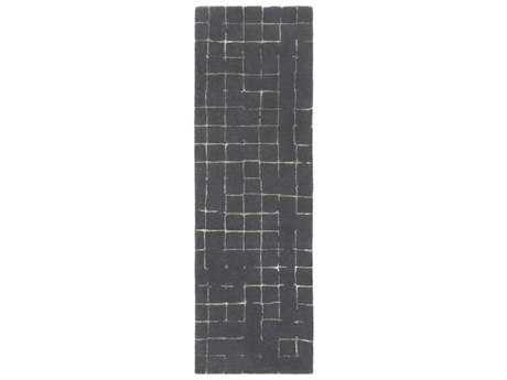 Surya Pursuit 2'6'' x 8' Rectangular Dark Brown & Taupe Runner Rug