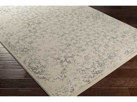 Surya Priyanka Rectangular Beige, Medium Gray & Charcoal Area Rug