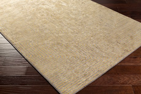Surya Quartz Rectangular Gold Area Rug