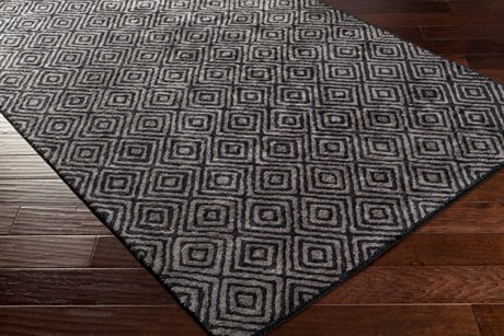 Surya Quartz Rectangular Light Gray Area Rug