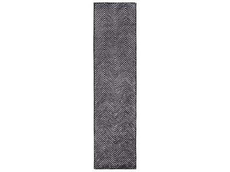 Surya Quartz Rectangular Light Gray Runner Rug