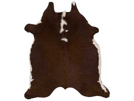 Surya Rawhide Rectangular Chocolate Area Rug