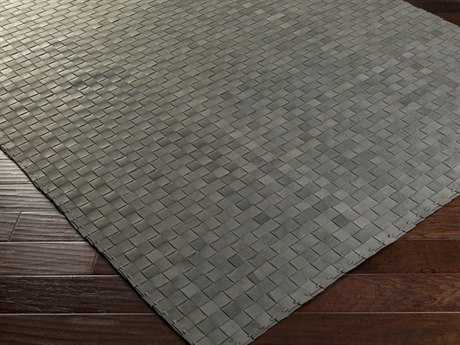 Surya Rock Rectangular Gray Area Rug