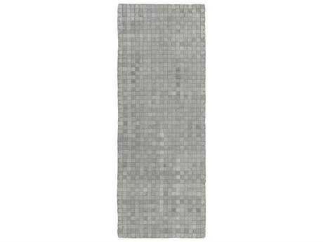 Surya Rock 2'6'' x 8' Rectangular Gray Runner Rug