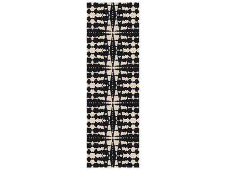 Surya Ridgewood 2'6'' x 8' Rectangular Black Runner Rug