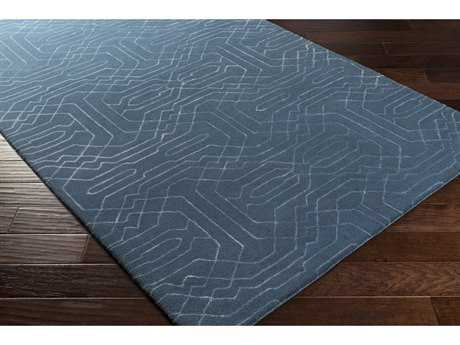 Surya Ridgewood Rectangular Bright Blue Area Rug
