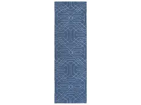 Surya Ridgewood 2'6'' x 8' Rectangular Bright Blue Runner Rug