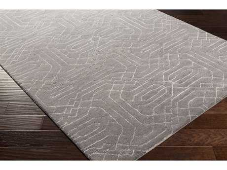 Surya Ridgewood Rectangular Medium Gray & Light Gray Area Rug