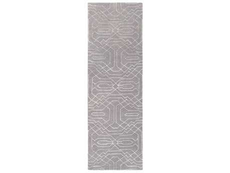Surya Ridgewood 2'6'' x 8' Rectangular Medium Gray & Light Gray Runner Rug