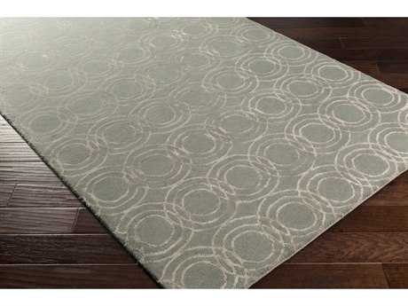 Surya Ridgewood Rectangular Light Gray & Khaki Area Rug
