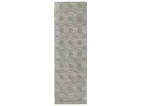 Surya Ridgewood 2'6'' x 8' Rectangular Light Gray & Khaki Runner Rug