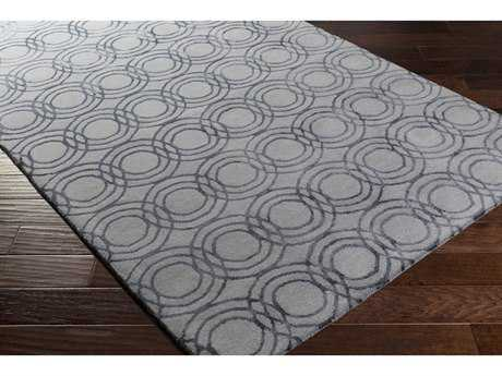Surya Ridgewood Rectangular Medium Gray & Black Area Rug