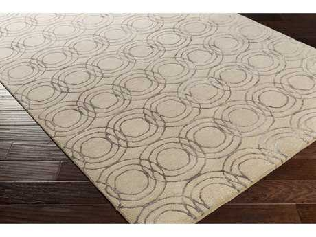 Surya Ridgewood Rectangular Cream & Taupe Area Rug
