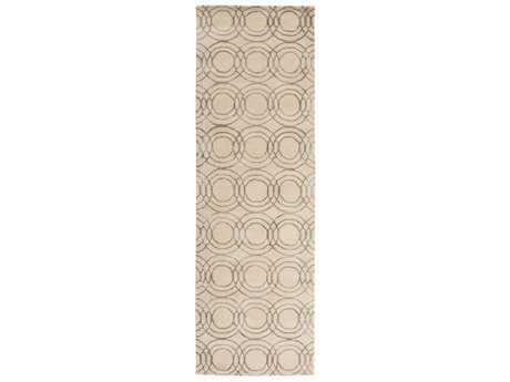 Surya Ridgewood 2'6'' x 8' Rectangular Cream & Taupe Runner Rug