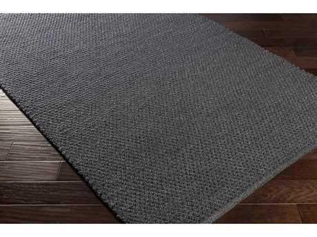 Surya Reef Rectangular Black Area Rug
