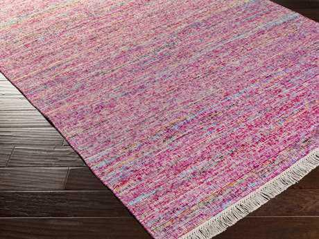 Surya Rex Rectangular Pastel Pink Area Rug