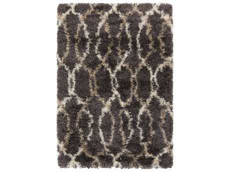 Surya Rhapsody Rectangular Medium Gray, Khaki & Beige Area Rug