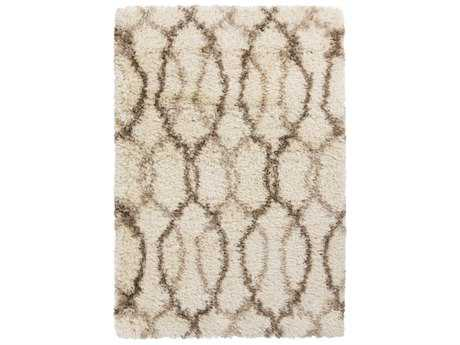 Surya Rhapsody Rectangular Khaki & Tan Area Rug