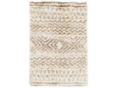 Surya Rhapsody Rectangular Cream, Wheat & Taupe Area Rug