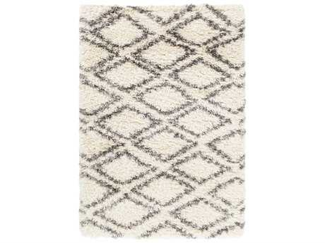 Surya Rhapsody Rectangular Cream, Medium Gray & Charcoal Area Rug