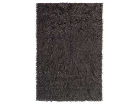 Surya Rajesh Rectangular Medium Gray & Black Area Rug