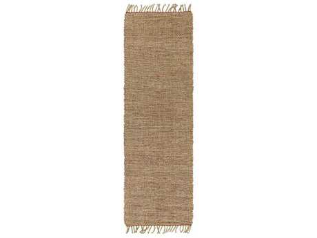 Surya Ryland 2'6'' x 8' Rectangular Rust & Khaki Runner Rug