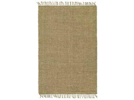 Surya Ryland Rectangular Grass Green & Khaki Area Rug