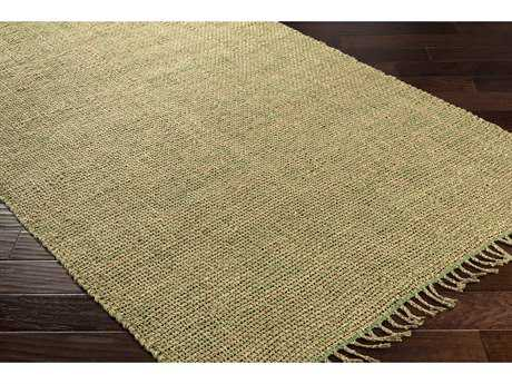Surya Ryland Rectangular Grass Green & Khaki Area Rug